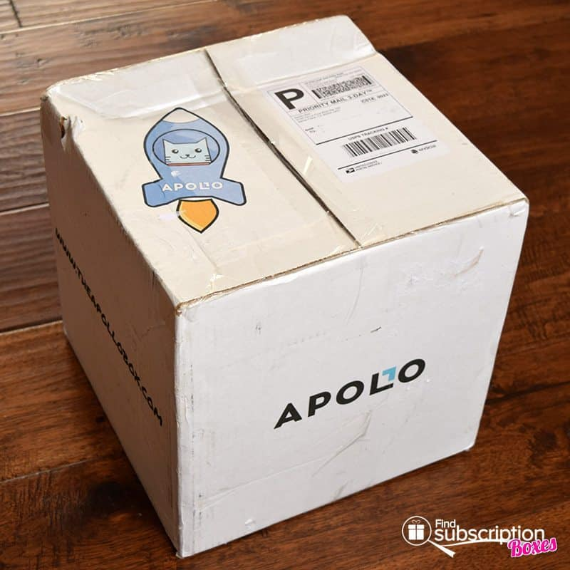 August 2017 Apollo Surprise Box Review - Box