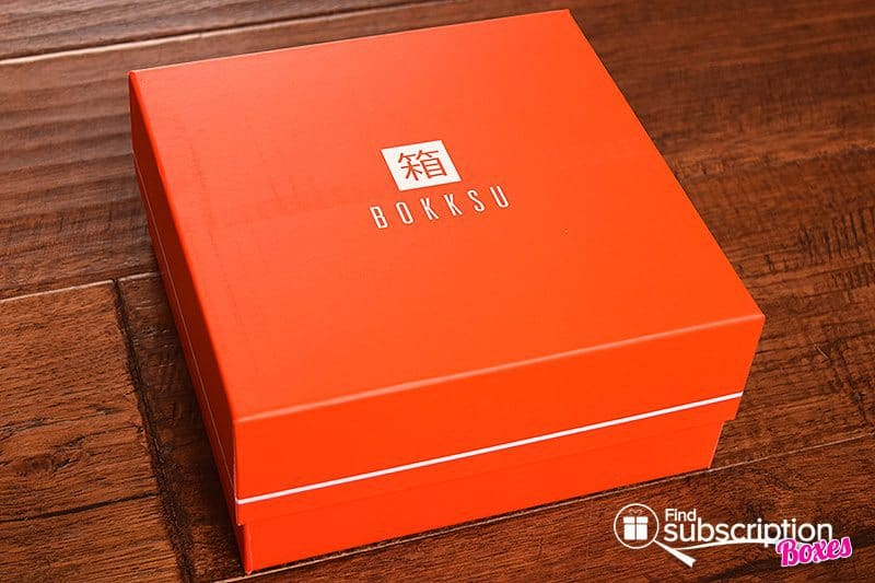 August 2017 Bokksu Review - Box