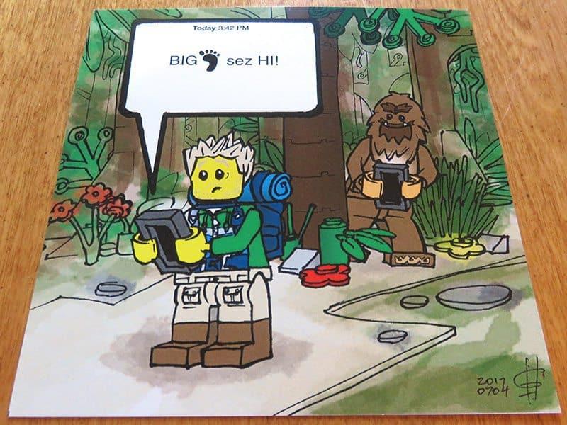 August 2017 Brick Loot Review: Brickmoji - Art Print
