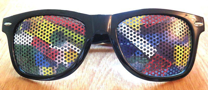 August 2017 Brick Loot Review: Brickmoji - Sunglasses