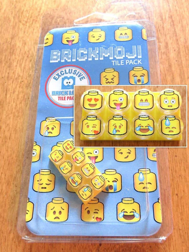 August 2017 Brick Loot Review: Brickmoji - Tile Pack