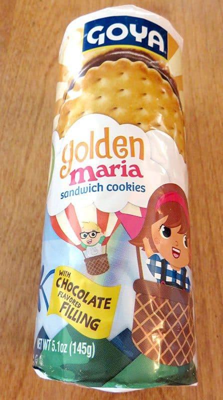 August 2017 Degustabox Review - Goya Golden Maria Sandwich Cookies