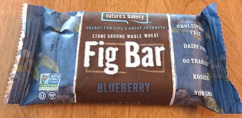 August 2017 Degustabox Review - Nature's Bakery Fig Bar in Blueberry