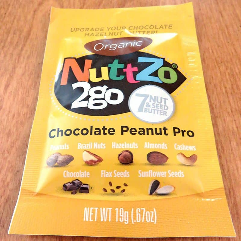 August 2017 Degustabox Review - NuttZo 2go Chocolate Peanut Pro