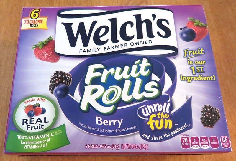 August 2017 Degustabox Review - Welch's Fruit Rolls