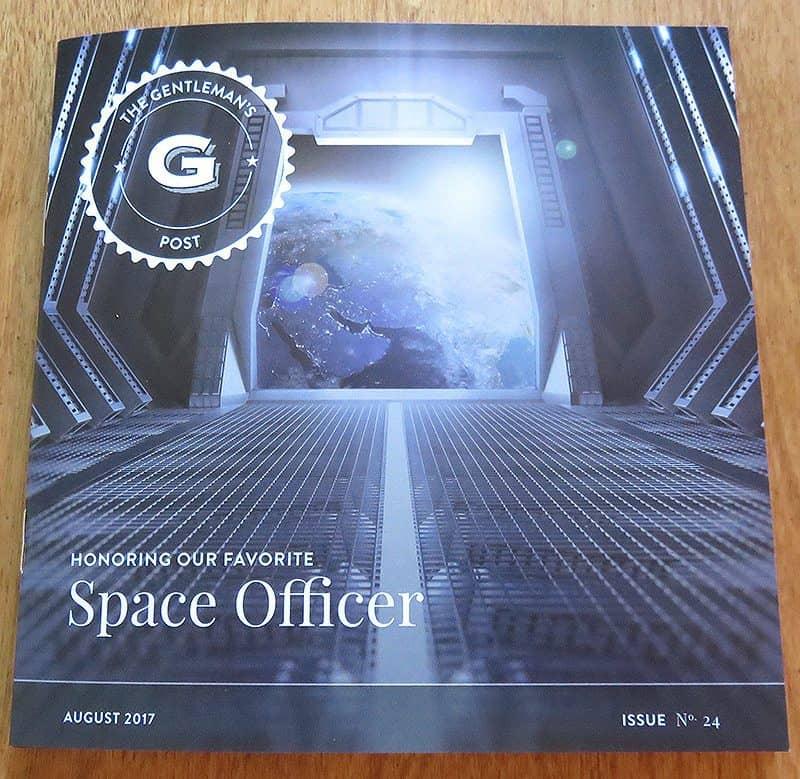 August 2017 Gentleman's Box Review - Flyer