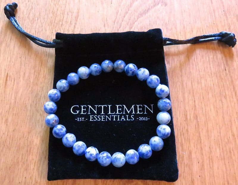 August 2017 Gentleman's Box Review - Beaded Cuff