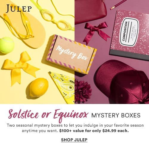 Julep Maven August 2017 Solstice and Equinox Mystery Boxes