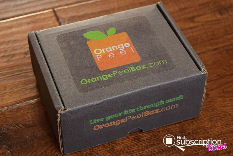 August 2017 Orange Peel Box Review - Rejuvenation - Box