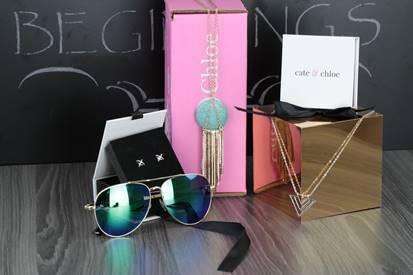 Cate & Chloe VIP Box September 2017 Theme - Shades of Gray