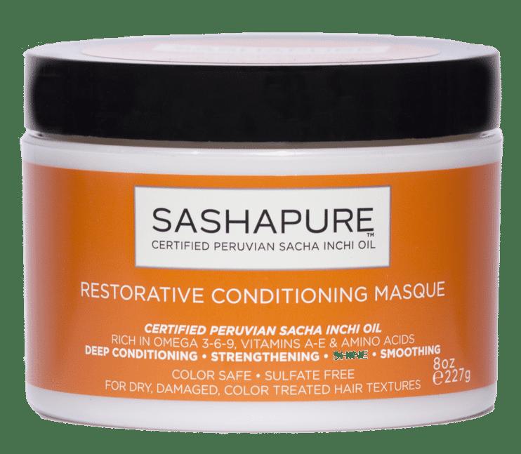 COCOTIQUE September 2017 Spoiler - SASHAPURE Restorative Conditioning Masque