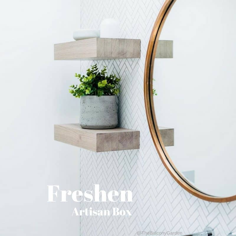 GlobeIn September 2017 Premium Artisan Box Theme - Freshen