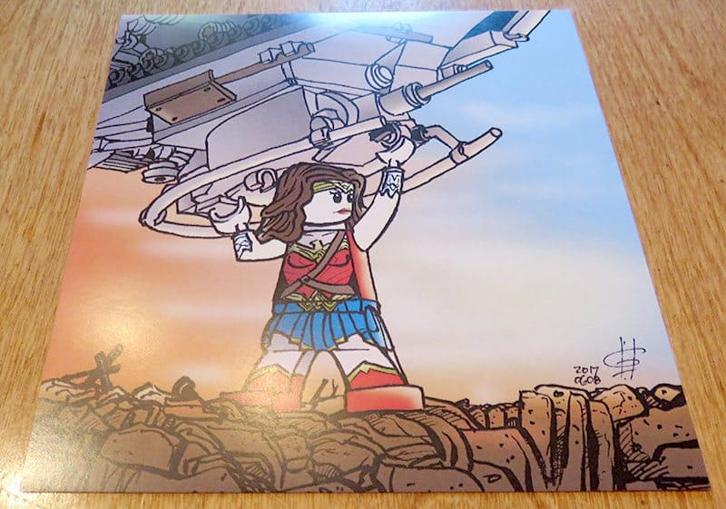 July 2017 Brick Loot Review - Home of the Free Because of the Brave - Art Print
