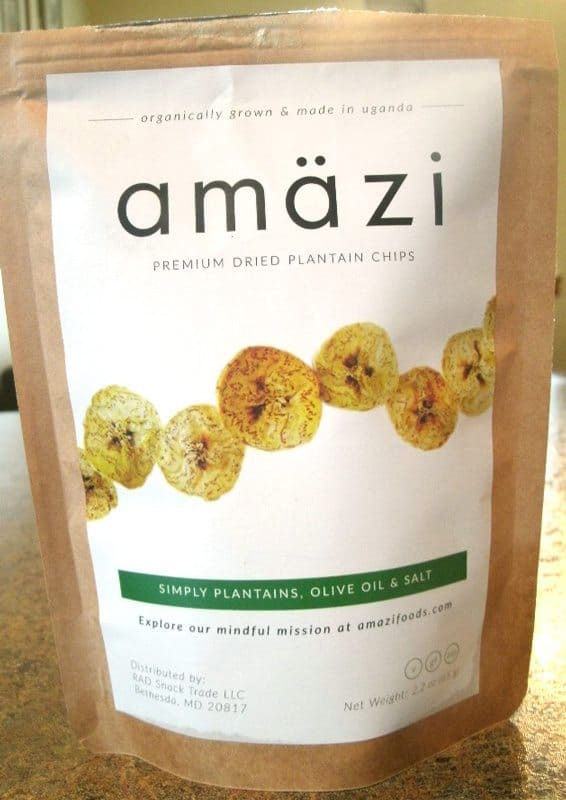 July 2017 Fit Snack Review - Amazi Plantain Chips