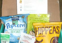 July 2017 Fit Snack Review - Box Contents