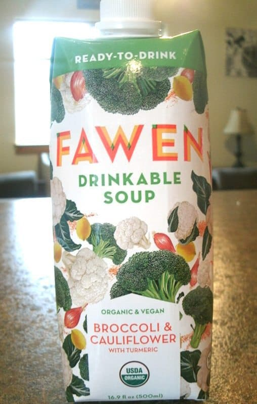 July 2017 Fit Snack Review - Fawn Drinkable Soup