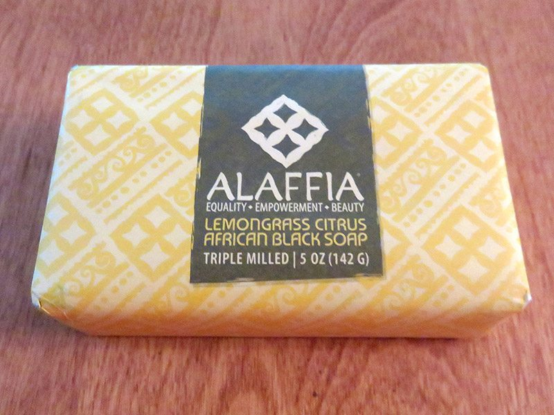 July 2017 GlobeIn Artisan Box Review – Bathe - Alaffia Lemongrass Citrus African Black Soap
