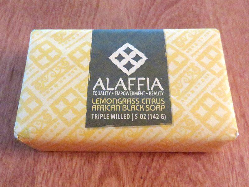July 2017 GlobeIn Artisan Box Review – Bathe - Alaffia Lemongrass Citrus African Black Soap