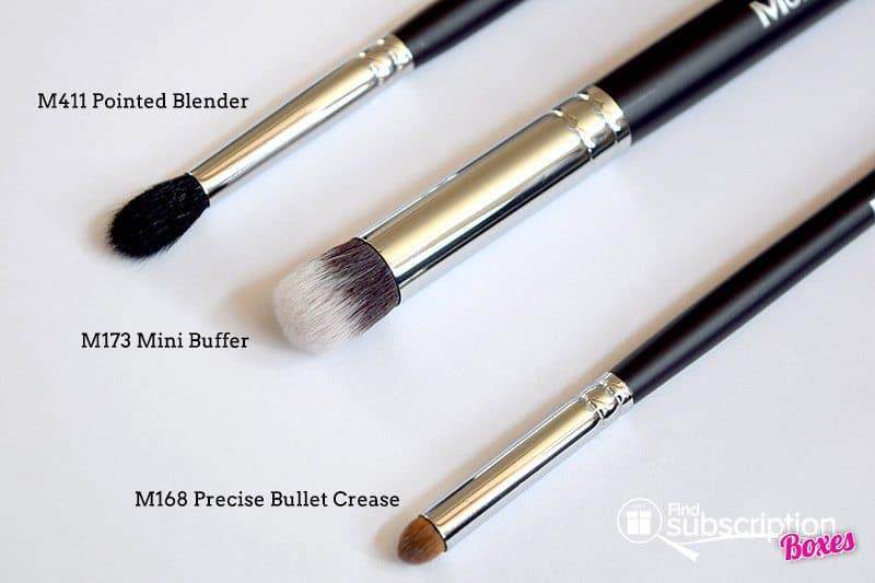 July 2017 MorpheMe Brush Club Review - Brushes