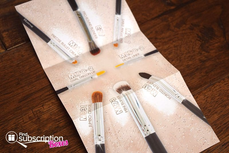 July 2017 MorpheMe Brush Club Review - Insert