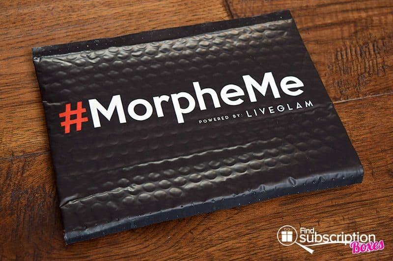 July 2017 MorpheMe Brush Club Review - Bag