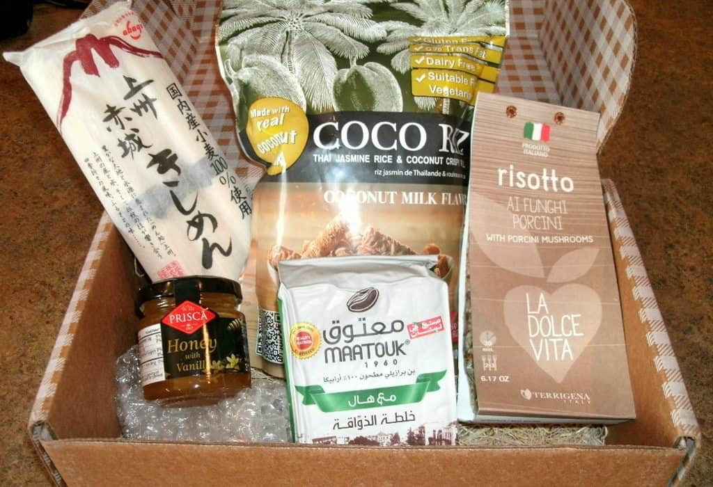 July 2017 Pantry Review - Box Contents