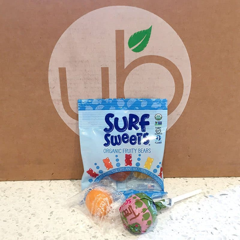 July 2017 UrthBox Review - Surf Sweets & Lollipops