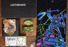 June 2017 Loot Gaming Review - Champion - Box Contents