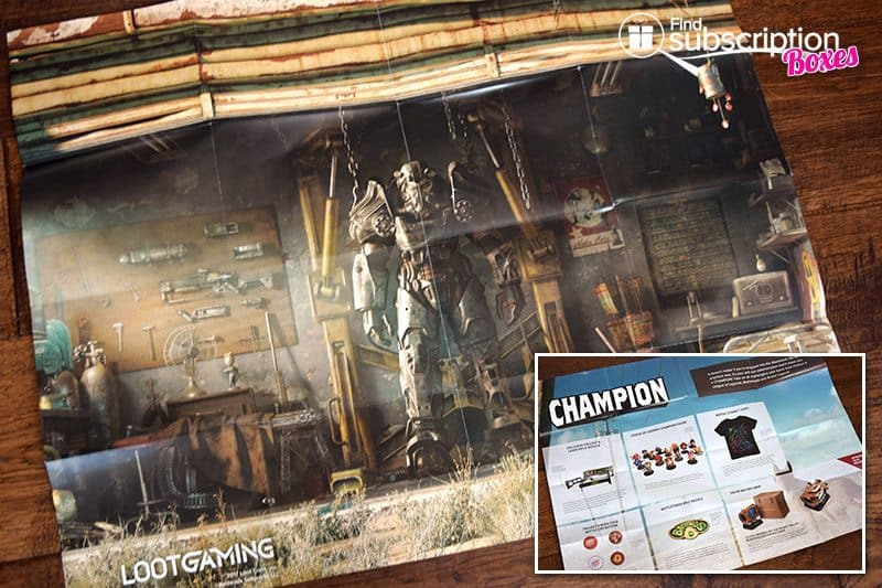 June 2017 Loot Gaming Review - Champion - Poster