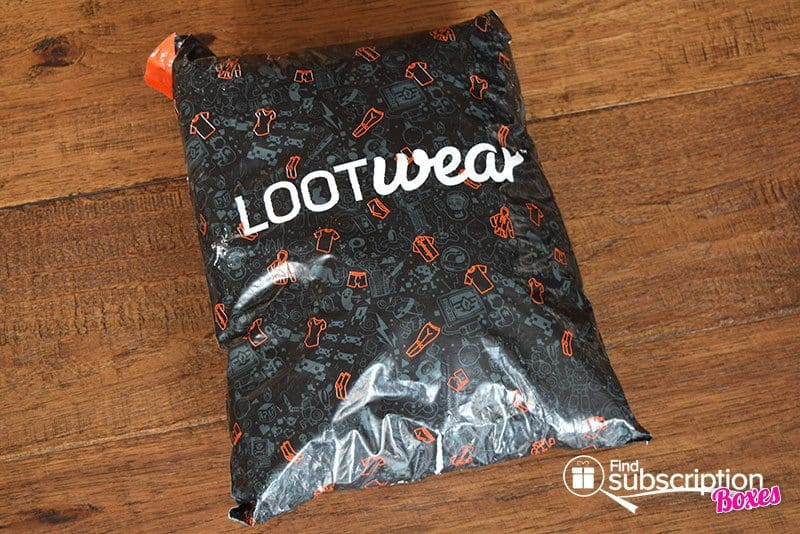 June 2017 Loot Wear Review - Alter Ego - Mailer
