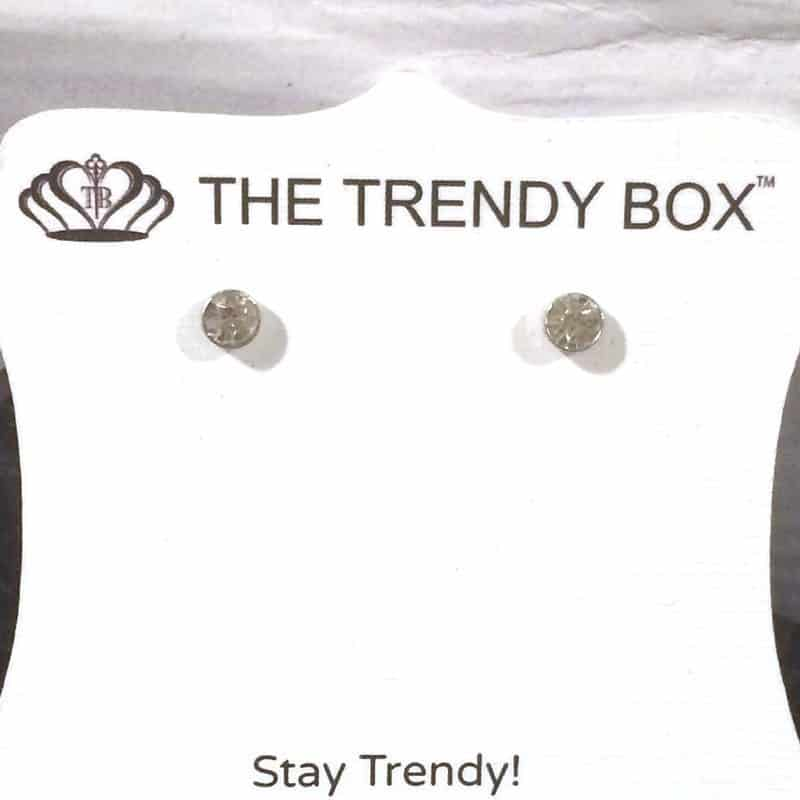 June 2017 The Trendy Box Review - Micro Stud Earrings