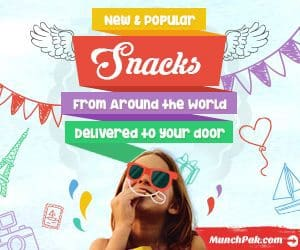 August 2017 MunchPak Coupon - 50% Off Your 1st MunchPak