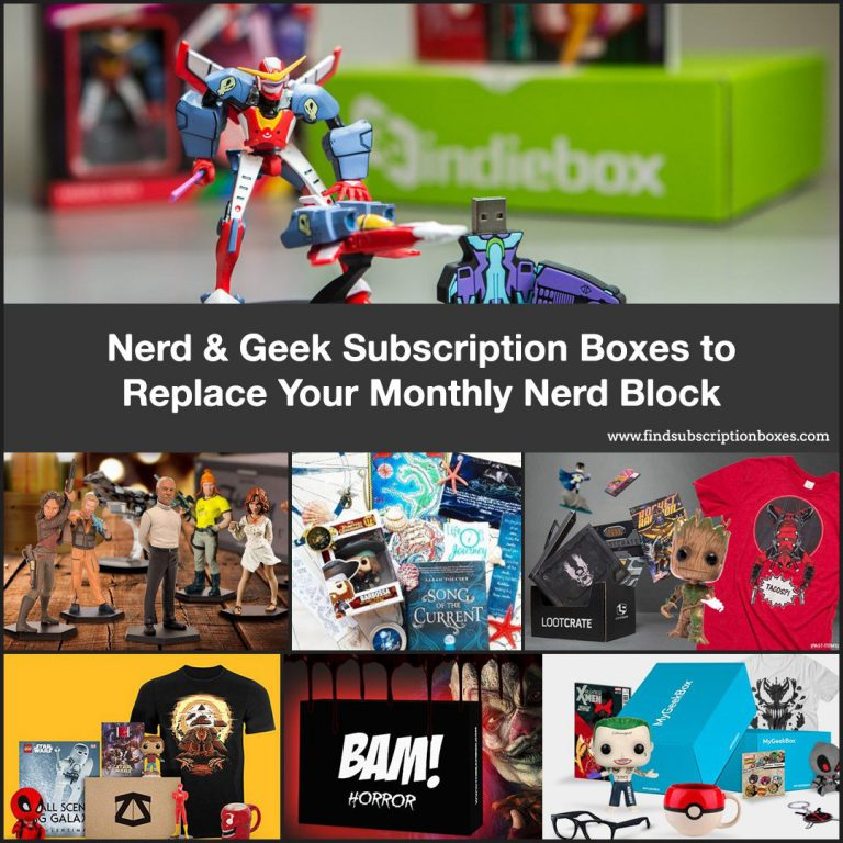 Nerdy Subscription Boxes to Replace Nerd Block