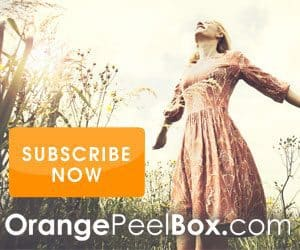 Orange Peel Box Labor Day Sale - Save 20%