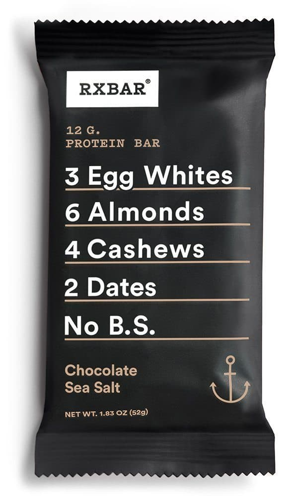 September 2017 Love With Food Spoiler - RxBar Chocolate Sea Salt