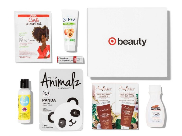 September 2017Target Beauty Box Total Hydration Spoilers
