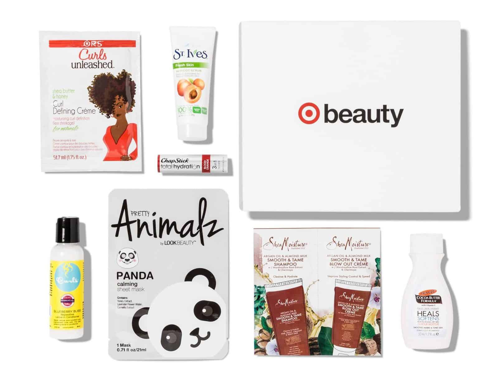 September 2017 Target Beauty Box Total Hydration Spoilers