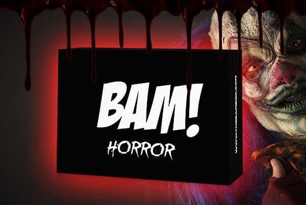The Bam Box Horror Subscription Box