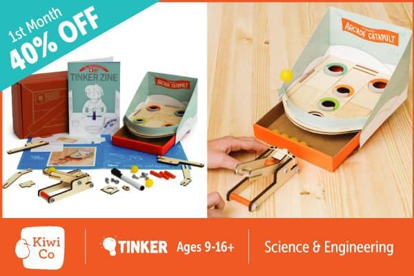 Exclusive TInker Crate Coupon - Save 40% Off