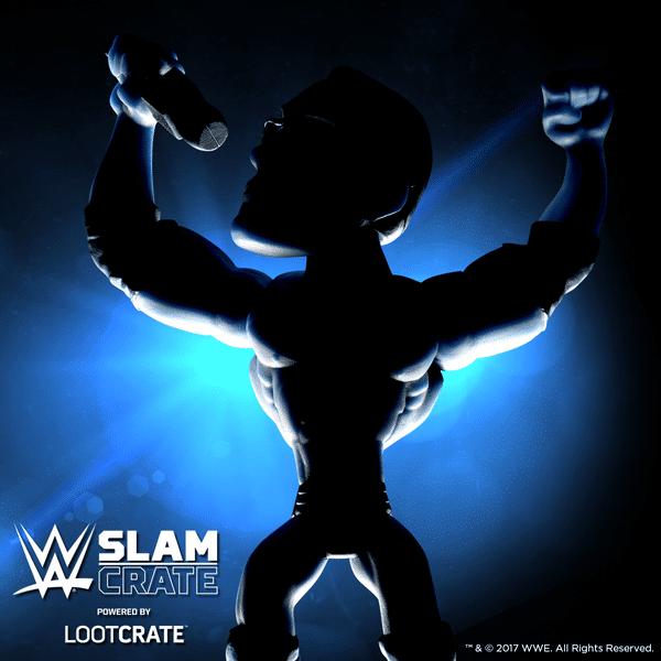 WWE Slam Crate October 2017 Spoilers - The Rock Slam Star Figure