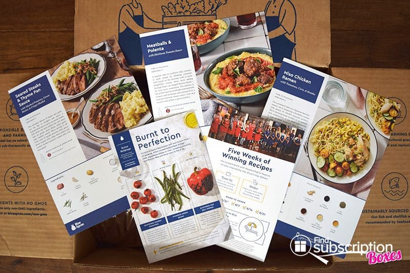 August 2017 Blue Apron Review - Recipes