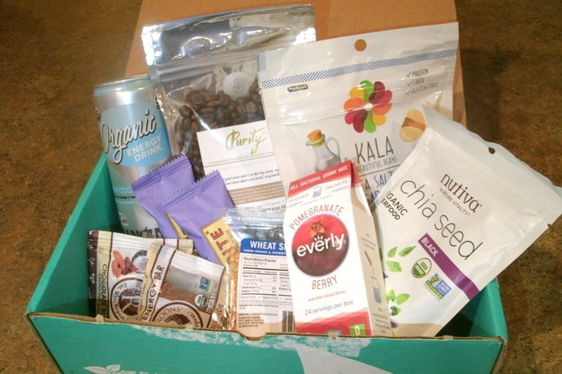 August 2017 Fit Snack Review - Box Contents