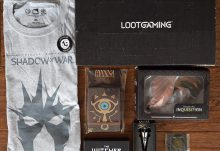 August 2017 Loot Gaming Review - Fortress - Box Contents