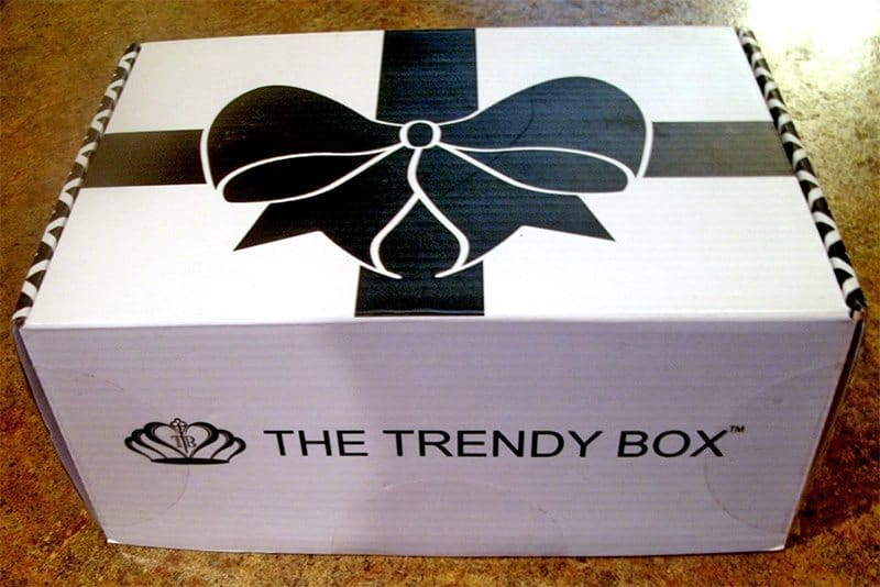 August 2017 The Trendy Box Review - Box