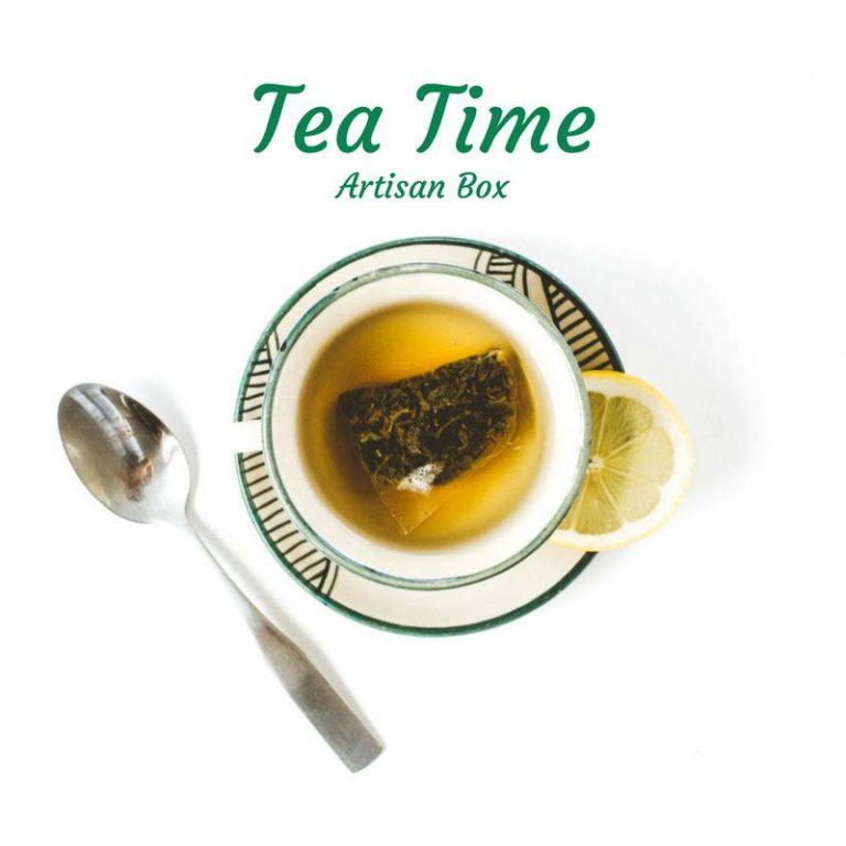 GlobeIn October 2017 Premium Artisan Box Theme - Tea Time