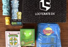 July 2017 Loot Crate DX Review - Animation - Box Contents