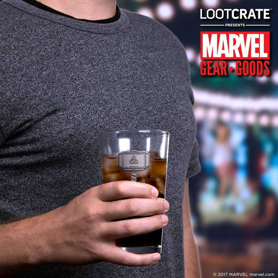 November 2017 Marvel Gear + Goods Spoiler - Mjolnir Glass