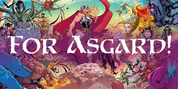 November 2017 Marvel Gear + Goods Theme - For Asgard