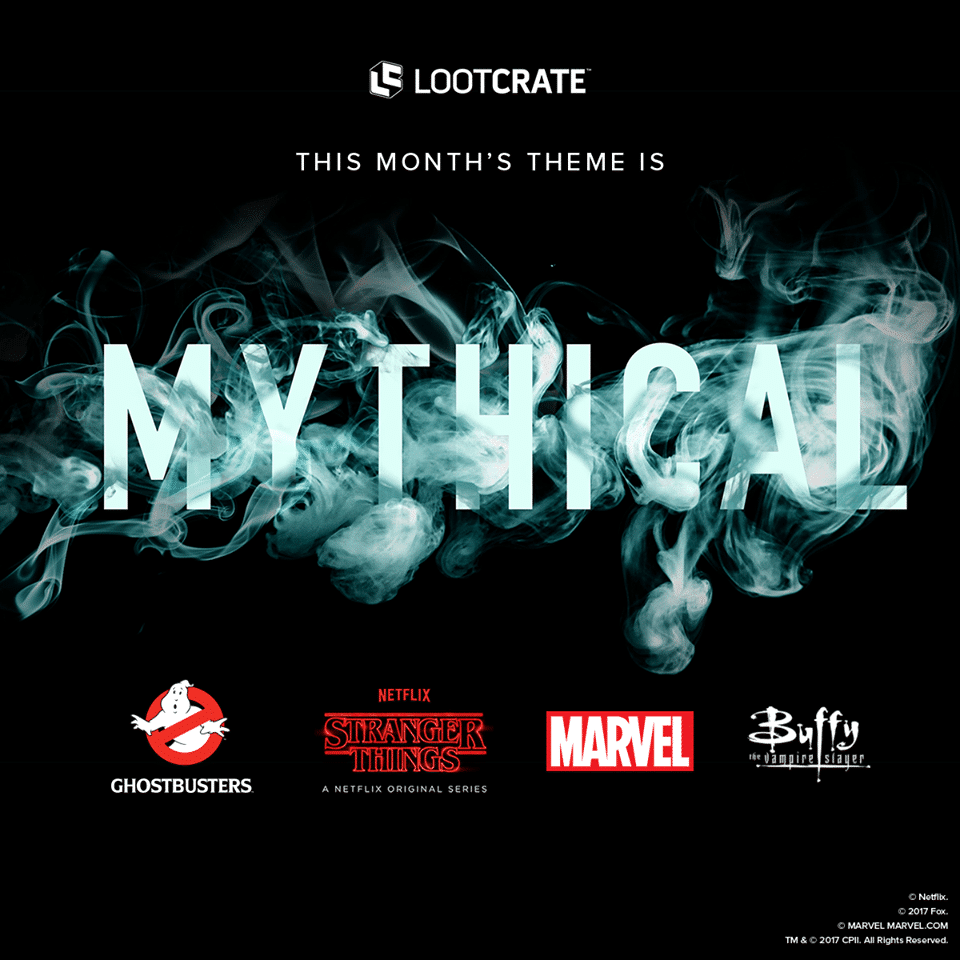 Loot Crate October 2017 Theme