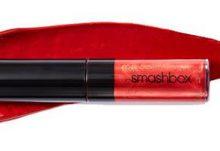 September 2017 Birchbox Freebie - Free Smashbox Cosmetics Be Legendary Liquid Lip Metal in Crimson Chrome Deluxe Sample